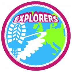 insignes op scoutfit explorers